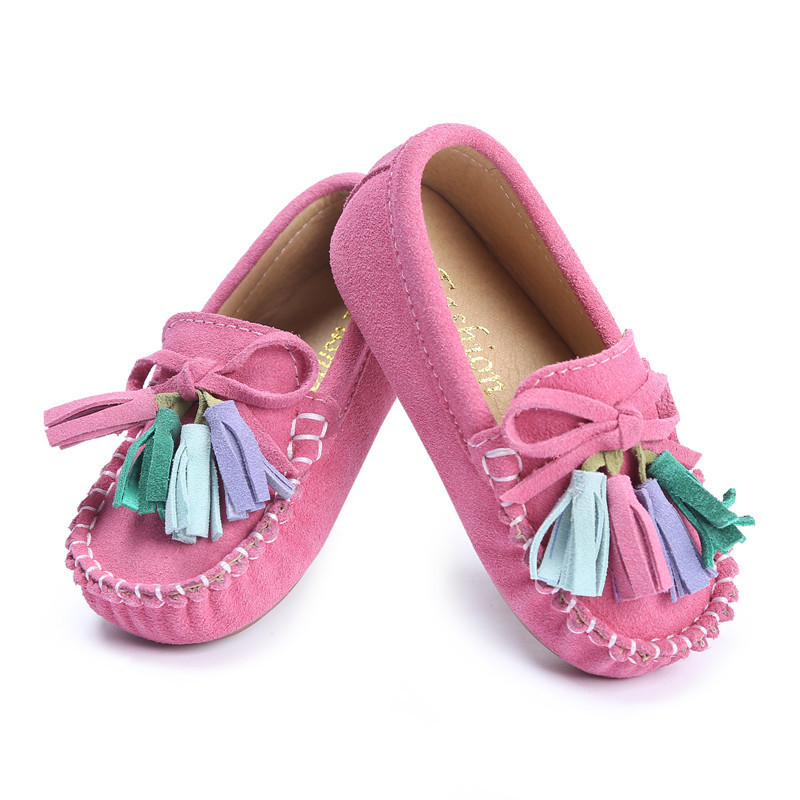 Kids Oxford Shoes Mocassins Baby Franges Toddler Girl Doug