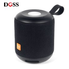 DOSS Cloud Fox Bluetooth Speaker TWS Wireless Portable mini speakers 2*6W Waterproof IPX5 LED Light Speakers Soundbox Touch(China)