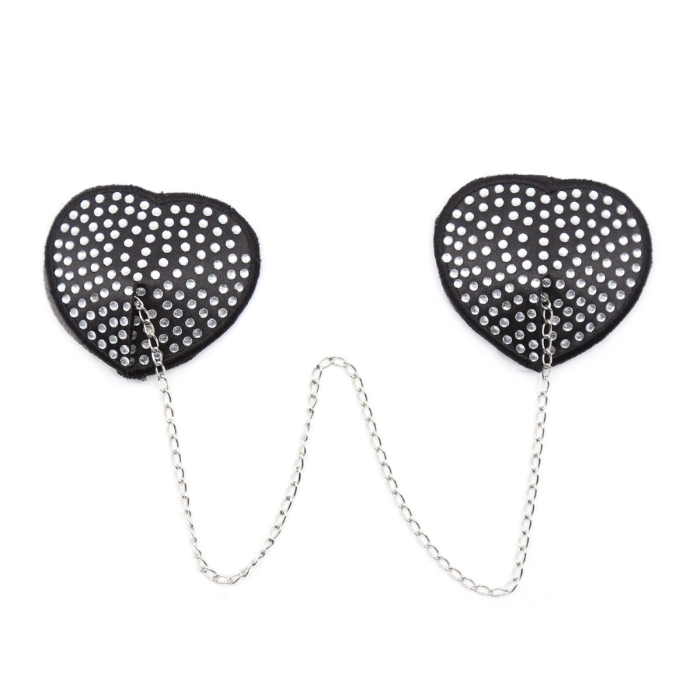 Sexy Chain Nipple Cover Women Reusable Breast Wear Silicone Nipple Pasties Stickers Bra Pads in intimates 39 accessories from Underwear amp Sleepwears