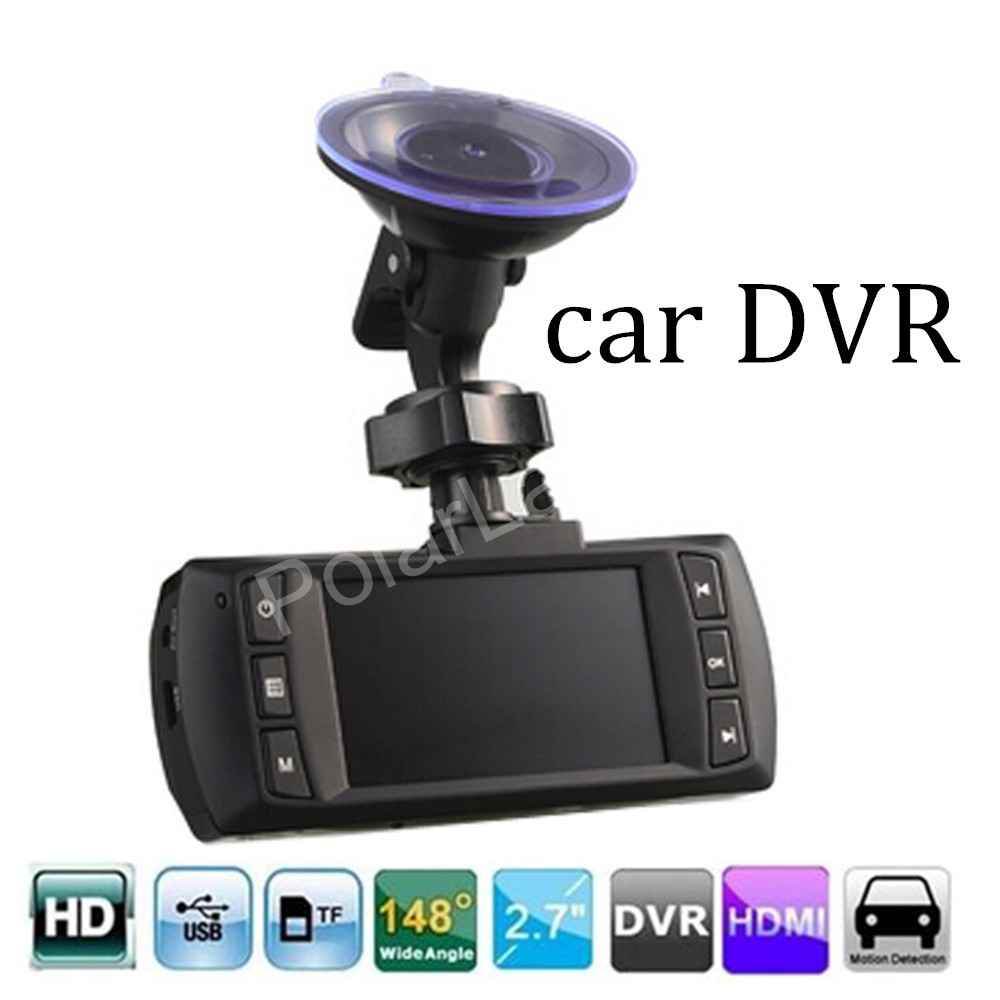 best price AT500 Full HD 1080P Car Recorder DVR Camera Video 148 degree wide viewing angle 2.7 inch LCD screen