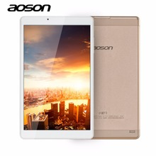 High Speed 10.1 Inch Quad Core Tablet PC Aoson R103 Android 6.0 Tablet 2GB 32GB MTK8163 1280*800 Wifi Tablet Golden Metal Case