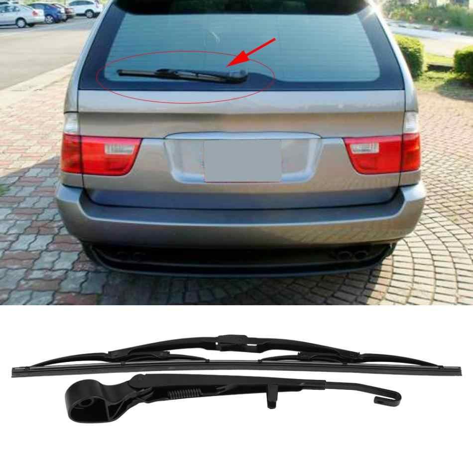 Rear Windshield Windscreen Wiper Arm & Blade Set for BMW X5 E53 1999 2000 2001 2002 2003 2004 2005 2006 61627068076
