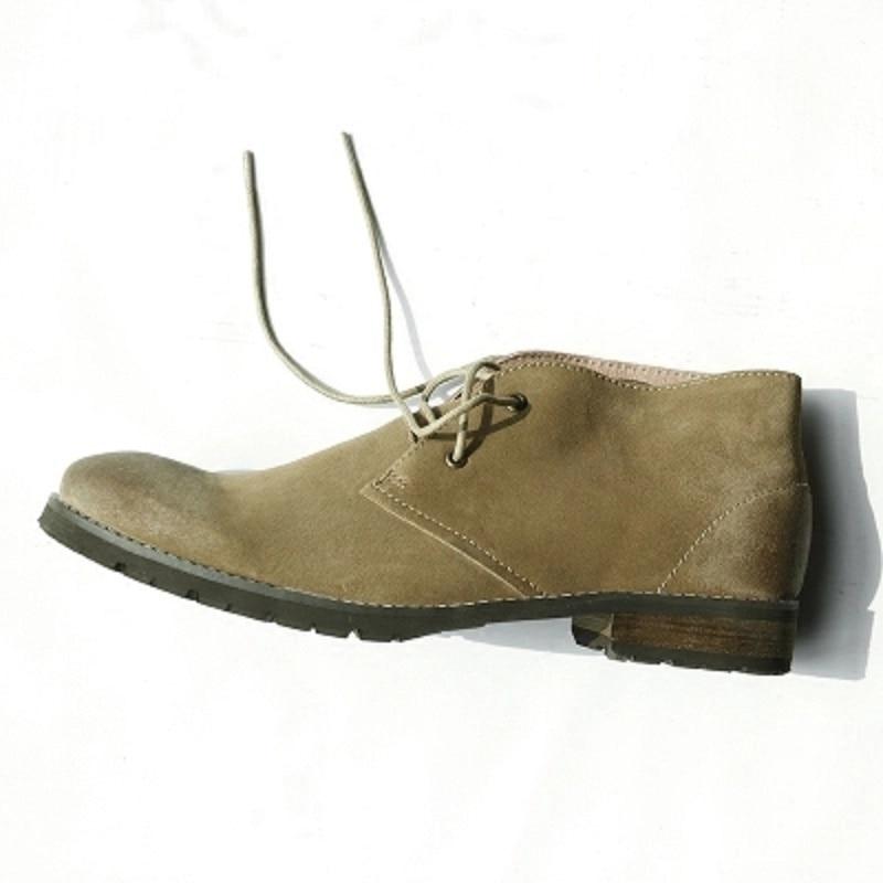 British style retro short boots boots casual cowboy boots men's shoes matte leather work boots boots bagatt boots