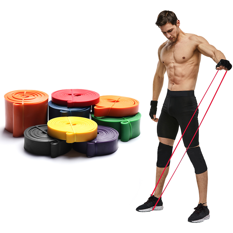 Training Fitness Resistance Bands Exercise Gym Strength Rubber Rope Pilates Sport Elastic Bands For Fitness Gum Workout Equipmen