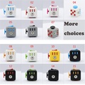 15 Colors Fidget Cube Toy Anti Irritability Magic Cube Funny Desk Toy Relieves Stress Juguet For Adults New Year Christmas GIft