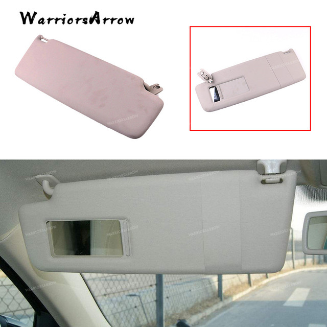 WarriorsArrow Grey Gray Interior Sun Visor Sunvisor Left Driver Side For  Volkswagen Tiguan 2010+ 5N0857551 d3c9a1d514d