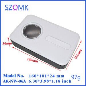 Image 2 - project case electronics enclosure box (4 pcs) 160*100*30mm enclosures szomk control box project box plastic instrument case