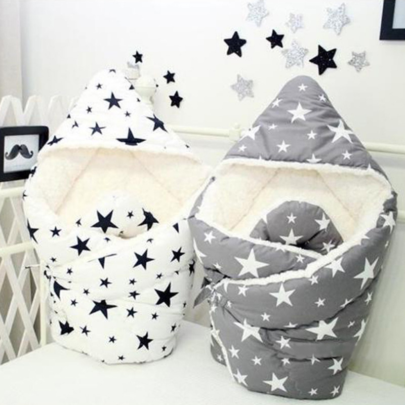 Newborn Infant Wrap Bedding Quilt Bed Sofa Stroller Basket Autumn Winter Baby Winter Autumn Baby Cotton Blanket