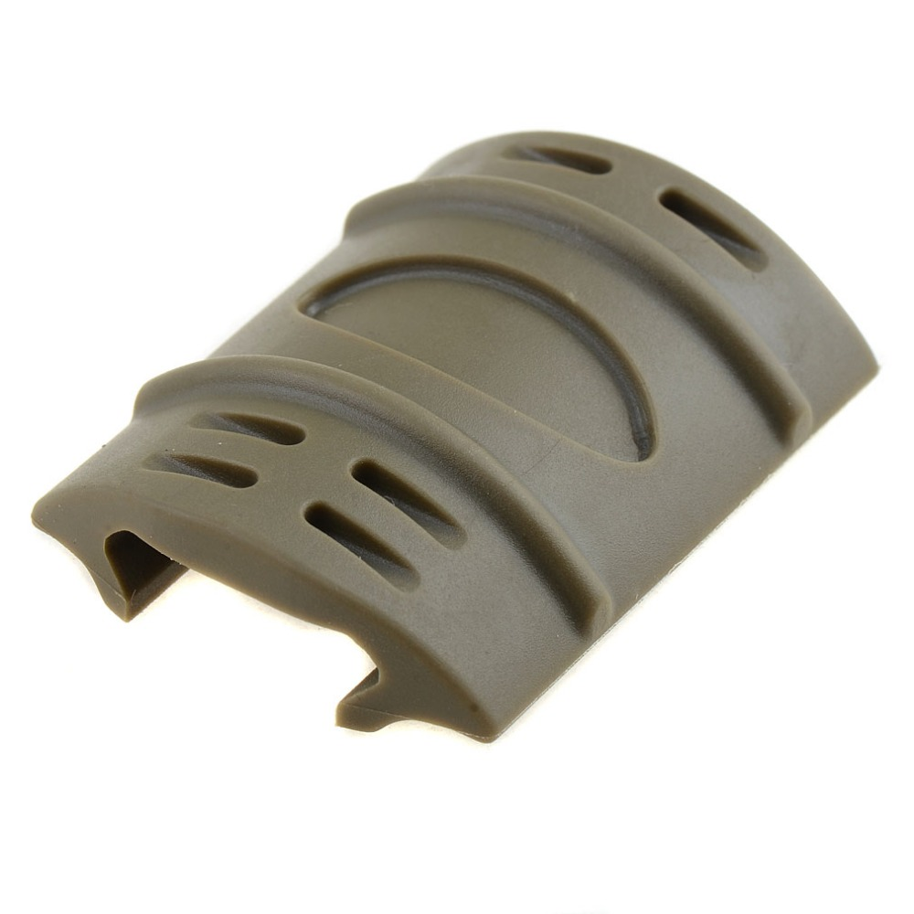 12/LOT Tactical Weaver Picatinny Rubber Handguard Quad Rail Covers Protect  P5