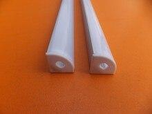 Free Shipping 6063 T5 T6 extrusion led channel Corner Aluminium LED Profile