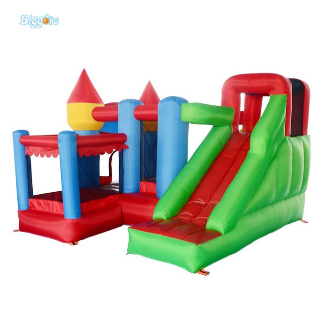Residential Nylon Jumping Castle Inflatable Bouncy Castle Combo Bounce House Jumping Castle Bouncer Jumper with Ball Pit