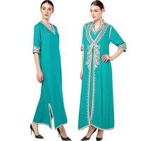 Women S Maxi Long Sleeve Long Dress Moroccan Kaftan Caftan Jilbab Islamic Abaya Muslim Turkish Arab