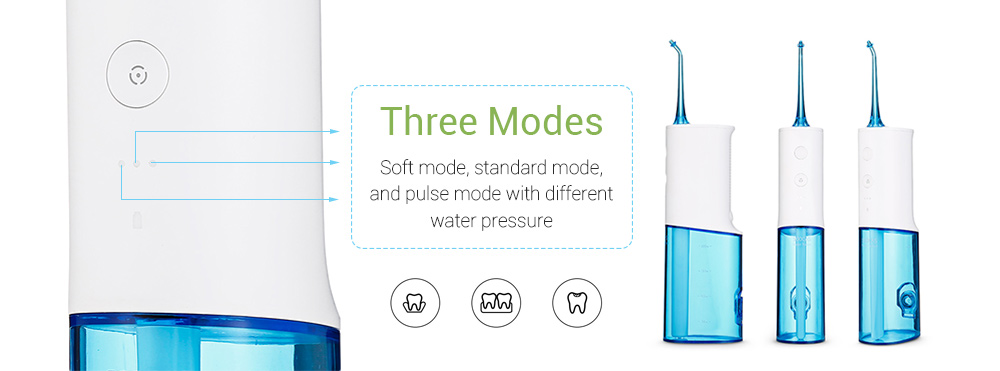 Xiaomi SOOCAS W3 Oral Irrigator  230ml Water Tank Constant Pulse Pressure Jet Cleaning Tooth Mouth Cleaner Irrigator Of the Oral (20)