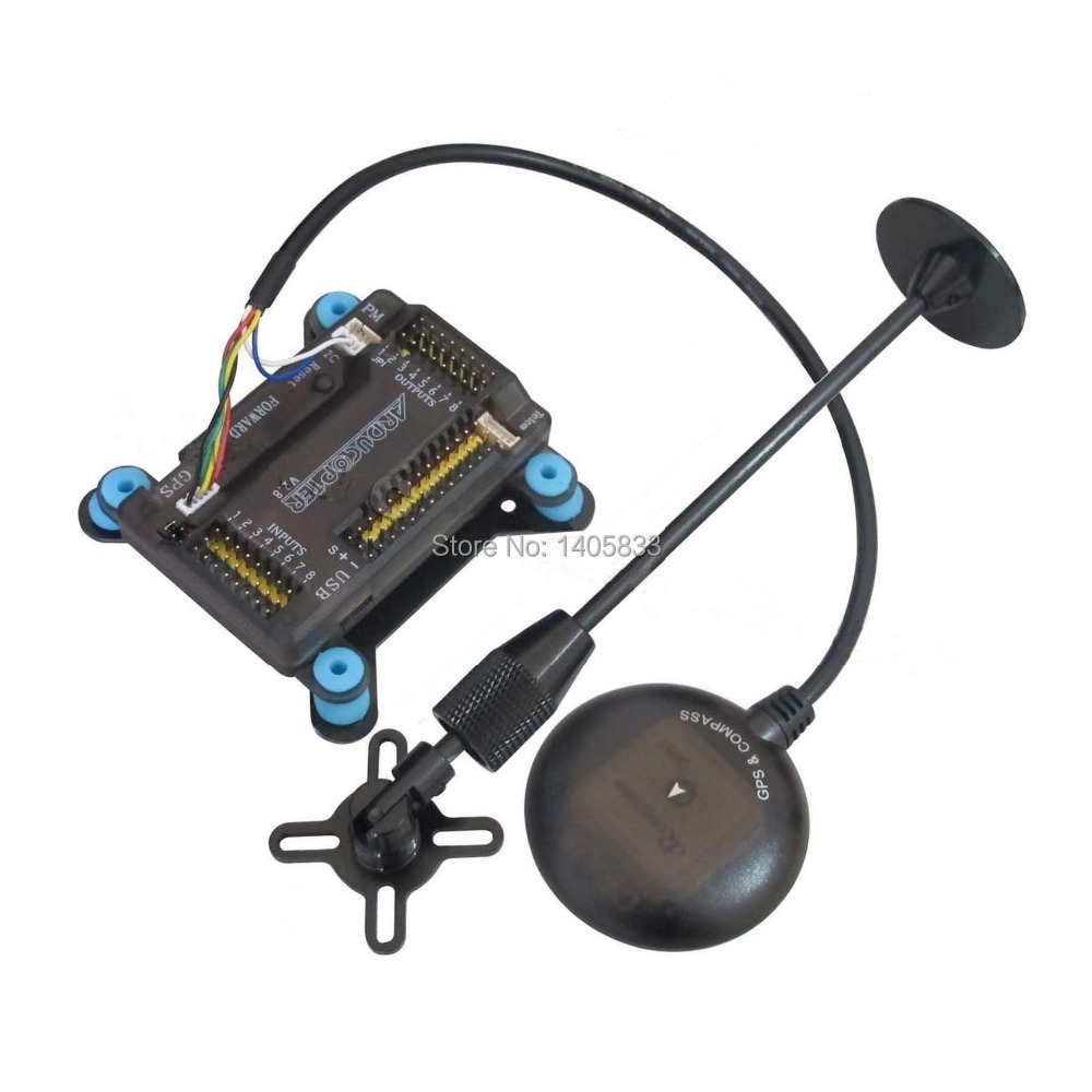 APM2.8 APM V2.8 Mega Flight Controller & CRIUS NEO-7M GPS Module for Quadcopter Multicopter crius mwc multiwii se flight controller bluetooth module parameter debug adapter