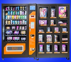 Coins payment POS payment bill payment  snack and drink self service cosmetics vending machine/vending kiosk