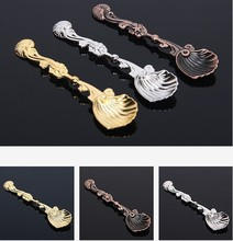 1 PCS New Fashion Exquisite Retro Palace Style Coffee Spoon Tea Ice Cream Scoop