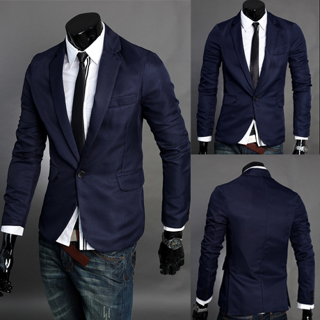 Office Clic Suits Mens Blazer Jacket Spring Picture More Detailed About Free Shipping