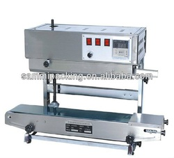Semi-automatic heat sealing machine,vertical continuous band heat sealer for plastic bag/film