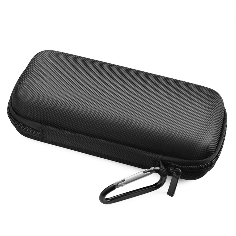 Portable Wireless Bluetooth Speaker Extra Nylon Case Harman/Kardon Traveler Storage Zipper Speakers Pouch Shell With Carabiner