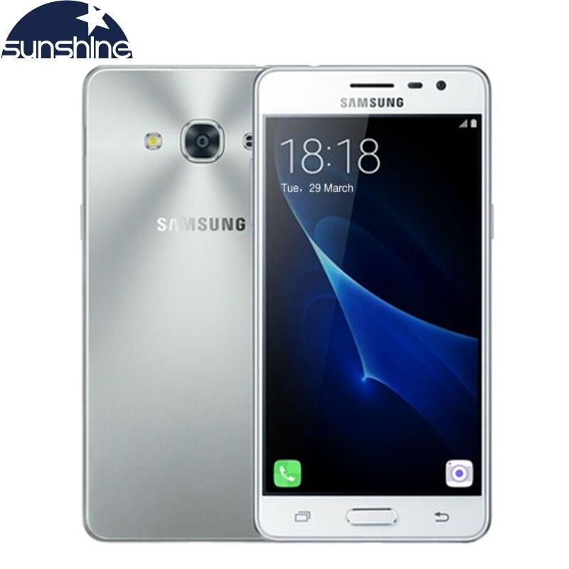 Original samsung galaxy j3 pro j3110 4g lte teléfono móvil snapdragon 410 quad c