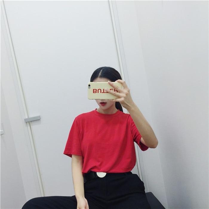 Κορεατική κόκκινη κοπέλα τυπωμένη - Γυναικείος ρουχισμός - Φωτογραφία 6