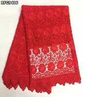KK African Cord Lace 2017 Pink Lace Fabric High Quality Guipure Lace Nigerian Lace Fabrics For
