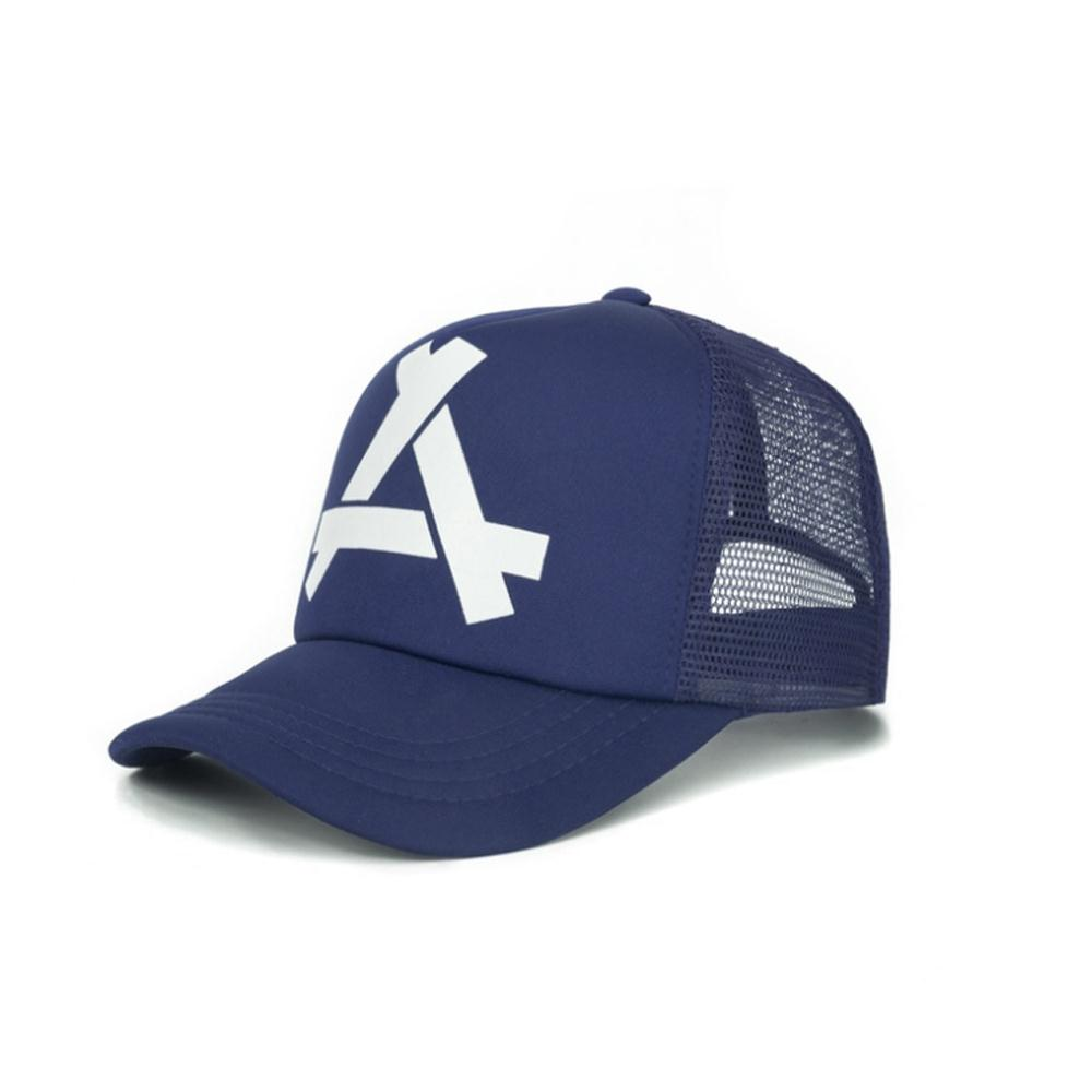 Vessos Ball Cap Golf Cap Net Cap Baseball Cap Durable Portable Youth Sun Hat Letter Net 4 Colors