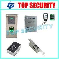 Система Linux отпечатков пальцев и RFID карты посещаемость времени и система контроля доступа IP65 водонепроницаемые двери блокировка управлени