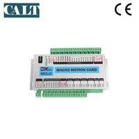 Дешевые контрольная карта с ЧПУ MACH3 USB High Скорость 200 кГц 3 оси Стандартный движения Управление Лер карты заменить E CUT для фрезерный станок