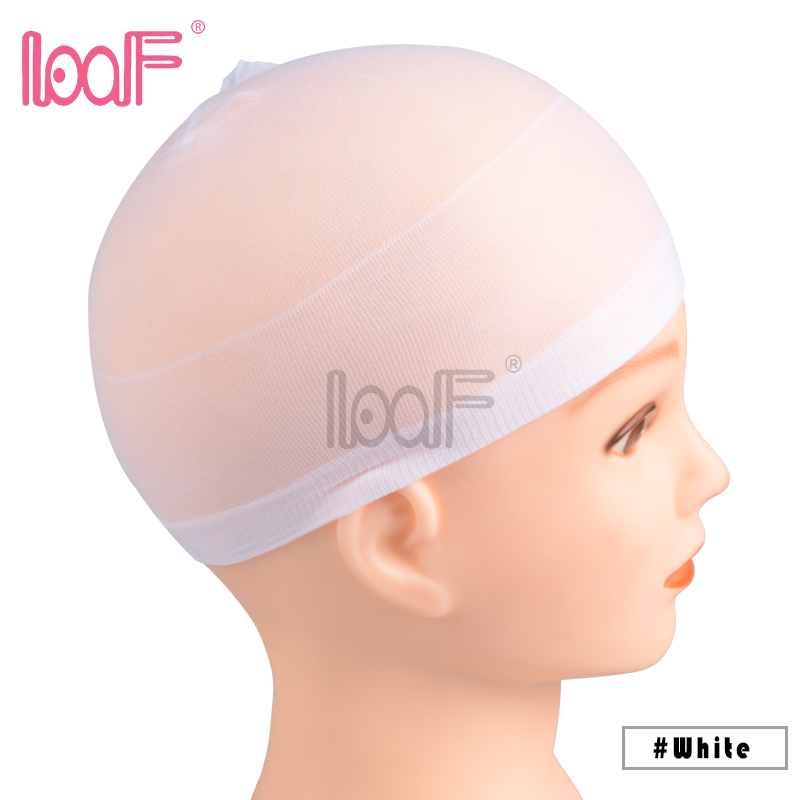 Hairnets 2 Pcs Deluxe Stocking Wig Cap Stretchable Elastic Hair Net Polyester Adjustable Size Mesh For Wearing Wigs Weaving Caps Hair Extensions & Wigs