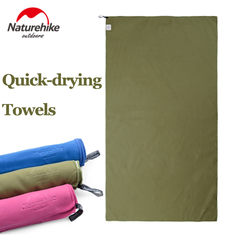 Wild Outdoor Quick Dry Travel Towel Naturehike Multi Purpose Fast Drying Microfiber Absorbent Towel For Camping Yoga Beach Sport wave sport microfiber quick dry beach towel blue