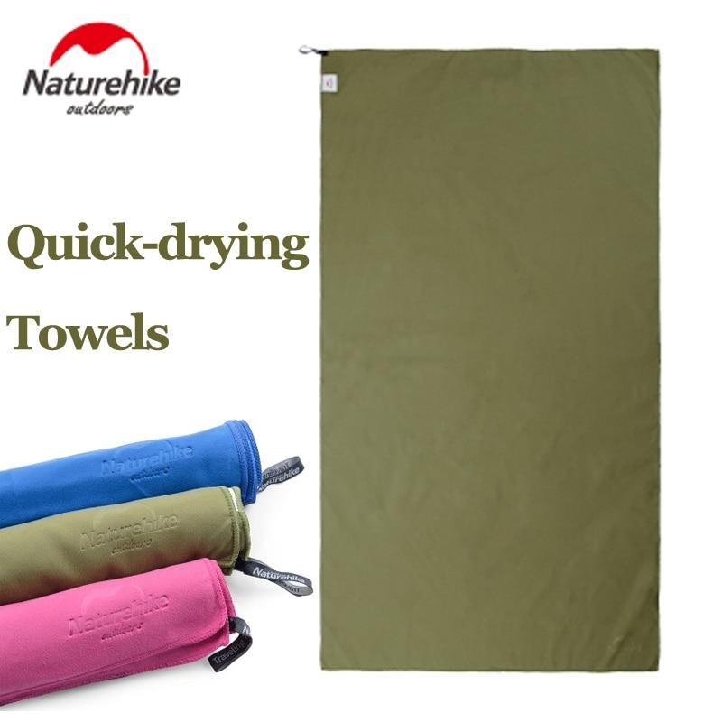 все цены на Wild Outdoor Quick Dry Travel Towel Naturehike Multi Purpose Fast Drying Microfiber Absorbent Towel For Camping Yoga Beach Sport