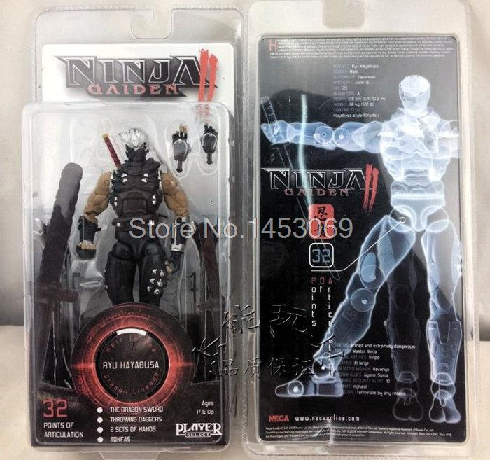 718CM Ninja Gaiden II Ryu Hayabusa Neca Player Select Action Figure New in Box WF070 custom sla 3d printing prototype provide rapid prototyping service 3d printing service