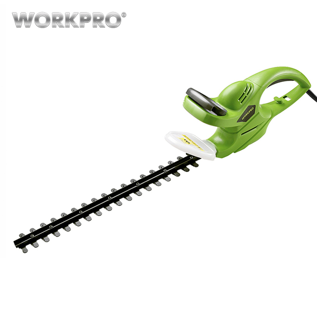 WORKPRO 500W Hedge Trimmer Power Shear Electric Rechargeable Weeding Shear Household Pruning Mower