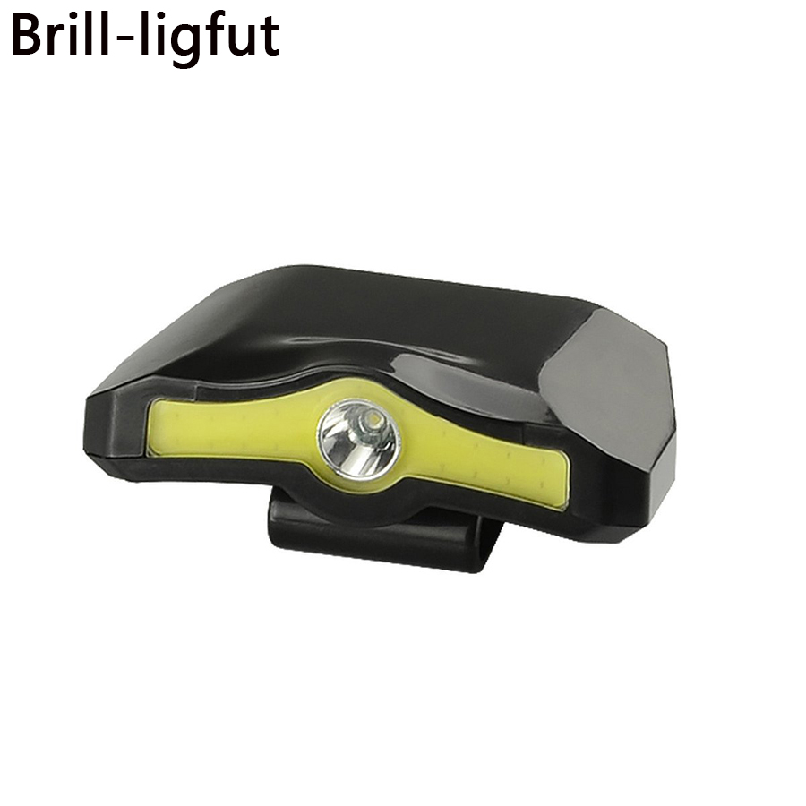 XPE+COB LED Cap Light Clip Headlamp Flashlight Miners Lamp For Hiking Camping Reading Working Fishing Walking The Dog Head Lamp