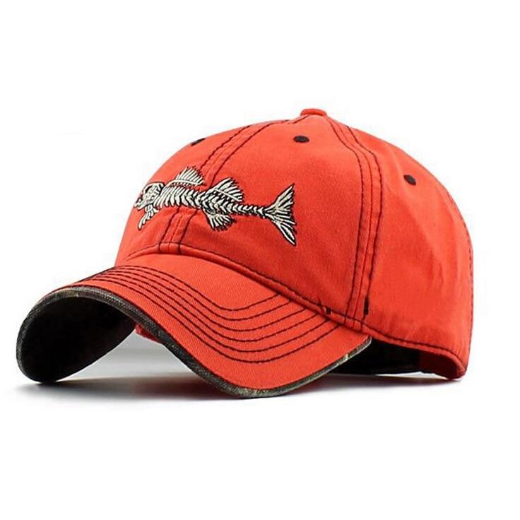 Prix pour Vente chaude 2017 Nouvelle marque casual casquette de baseball hommes véritable sport Fishbone logo snapback caps coton soleil de mode casual chapeaux mens