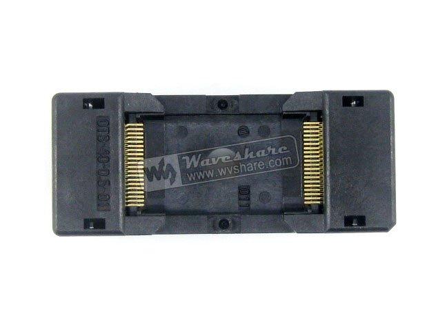 TSOP40 TSOP OTS-40-0.5-01 Enplas IC adaptateur de prise de Test 18.4mm largeur 0.5mm pas