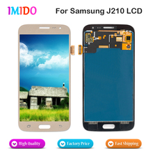 20PCS Wholesale LCD Display For Samsung Galaxy J2 J210 J210F 2016 LCD Display Touch Screen Digitizer Assembly Replacement цена
