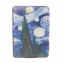 Women's Colorful Leather Book Cover for Kindle