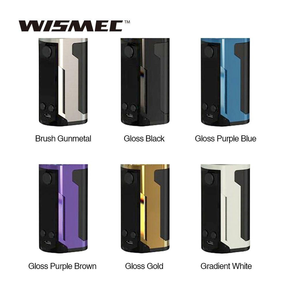 Оригинальный WISMEC Рел RX GEN3 двойной 230 Вт MOD W/1,3-дюймовый большой Экран Max 230 Вт Выход mod для гномика King Танк против RX GEN3