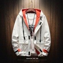 Brand Fashion Cargo With bigger Pocket Jacket Men 2019 Autumn Spring Patchwork Japan Style Clothing Plus ASIAN SIZE M-5XL 6XL afc asian cup 2019 japan turkmenistan