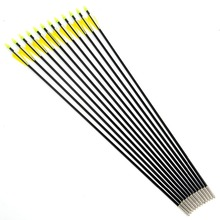High Quality Target Practise Fiberglass Arrow 6 or 12pcs lot 31inches Archery Hunter Bow Arrows for
