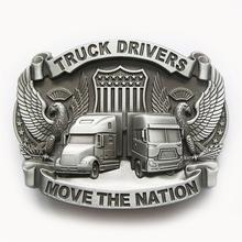 Distribute Belt Buckle Original Truck Driver Free Shipping 6pcs Per Lot Mix Style is Ok