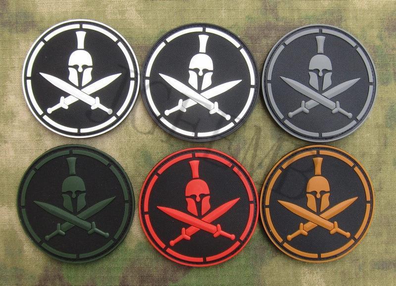 DEVGRU NSWDG U.S. NAVY Seal Team Spartans Tactics Morale 3D PVC patch Black Red Green Grey Tan Luminous