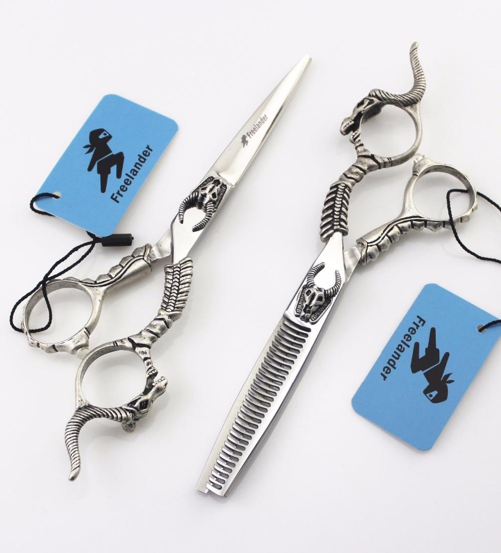 ФОТО Purple Dragon Japanese Professional 6 inch Hair Cutting Thinning Scissors Set Kapper Hairdressing Shears Makas Tijeras Peluquero