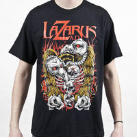 Lazarus A D Bird Skulls T Shirt S M L Xl 2Xl Brand New Official T