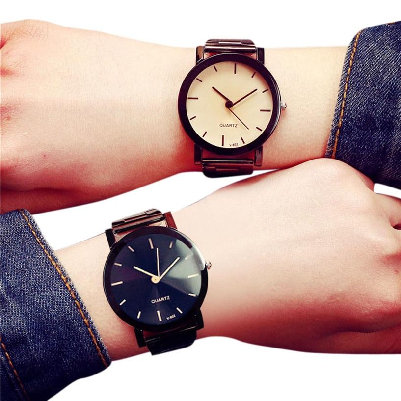 Watches Honest Relogio Feminofsbulous Fashion Women And Men Fashion Stainless Steel Band Quartz Analog Wrist Watch J12