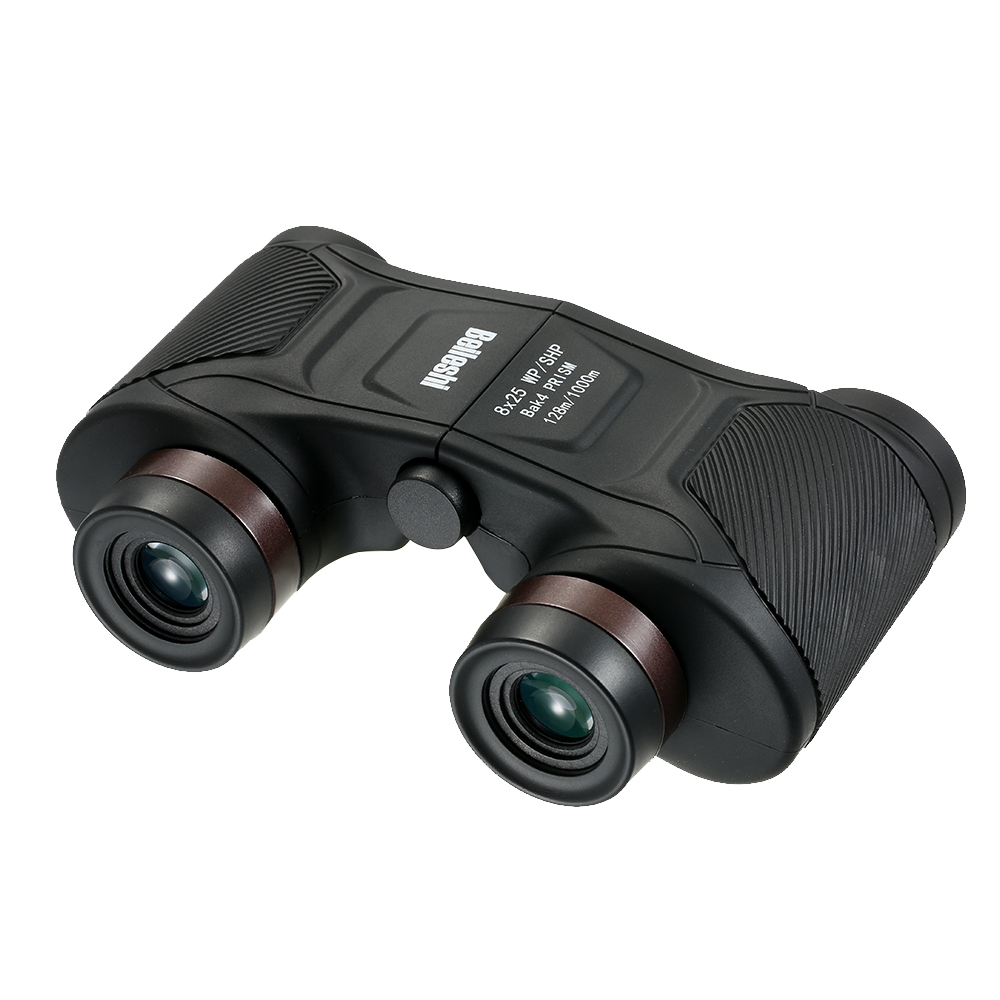 TD39 8X25 Automatic Fixed Focus Binocular Waterproof Shockproof Compact Auto Focus Binoculars Telescope for Racing Sports