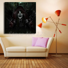 World Of Warcrafts Gothic Skulls Death Fantasy Animals Wallpapers Art Canvas Poster Painting Wall Picture Print Home Decoration