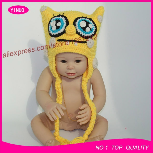 Promotion Newborn Baby Infant Spongebob Squarepants Crochet